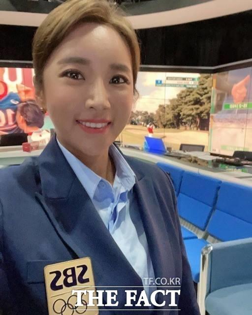 2020도쿄올림픽 한국 여자 골프선수들에 대한 편파 해설로 인기를 얻고 있는 이보미 SBS해설위원./이보미 인스타그램