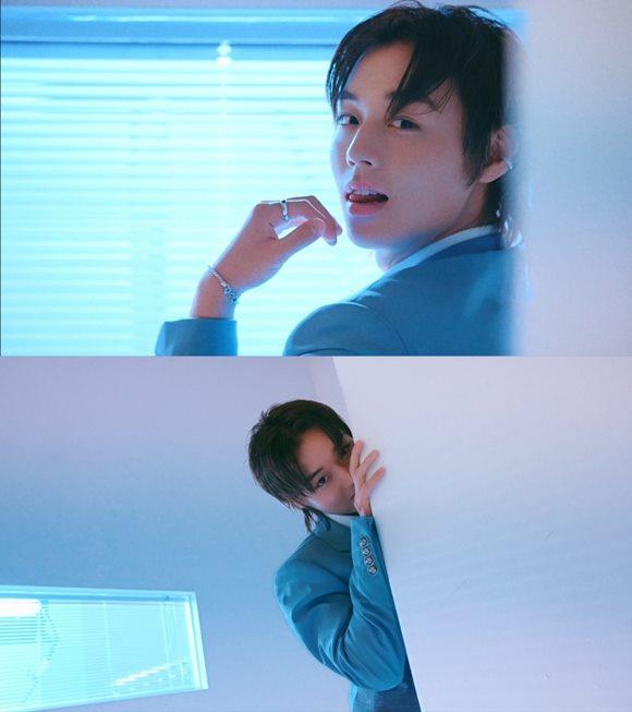 컴백을 앞둔 가수 박지훈이 네 번째 미니앨범 My Collection(마이 컬렉션)의 콘셉트 트레일러 영상을 공개했다. /마루기획 제공