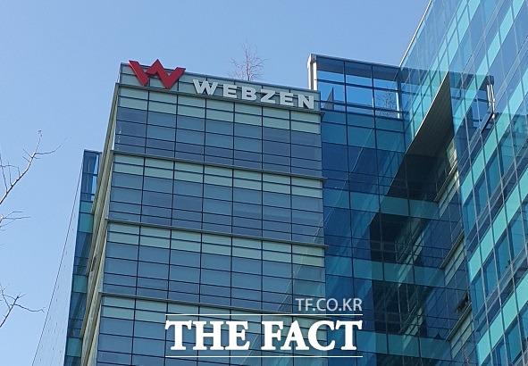 웹젠은 상반기 매출 1496억 원, 영업이익 605억 원 당기순이익 498억 원을 기록했다. /더팩트 DB