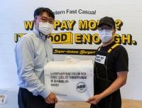 신세계푸드, '노브랜드 버거' 가맹점주에 보양식 선물세트 증정