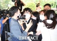 '아수라장'으로 변한 윤미향 첫 공판 출석 [TF사진관]