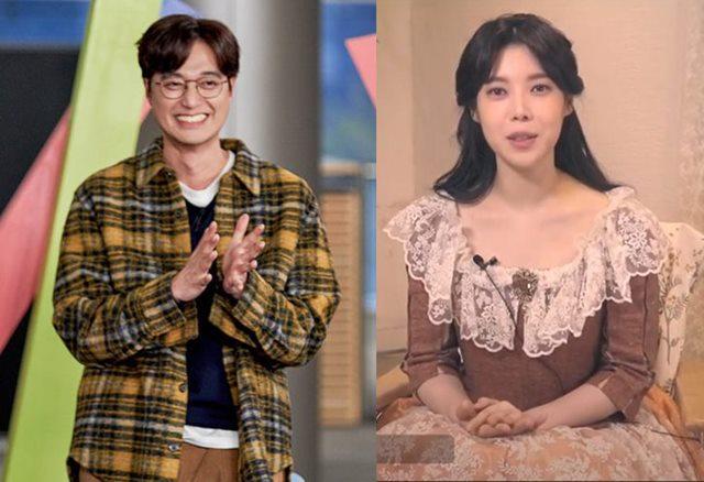 이장원(왼쪽)과 배다해는 지난 15일 밤 각각 공식 블로그와 팬카페에 직접 글을 올려 결혼 소식을 전했다. /tvN제공, 뮤지컬 메리셰리 인터뷰 화면캡처