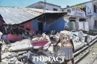 아이티 '7.2 강진' 참상...사망자는 1419명 [TF사진관]