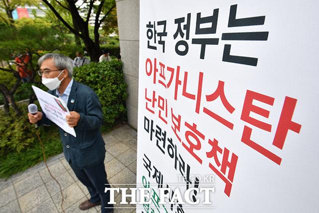 이태호 참여연대 평화군축센터 소장의 발언.