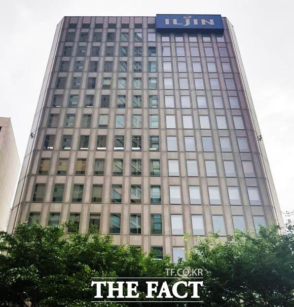 일진하이솔루스는 수소 저장 연료탱크와 모듈 등을 제조·공급하는 기술을 갖춘 기업이다. 지난 1999년 설립된 한국복합재료가 모태이며, 2011년 일진그룹에 인수됐다. 사진은 서울 마포구 소재 일진그룹 본사 전경. /더팩트 DB