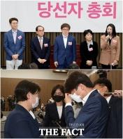 '나는 임차인' 윤희숙, 대선 후보에서 의원직 사퇴까지 '걸어온 1년'[TF사진관]