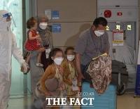 한국 도운 '아프간 조력자와 가족들' 입국 [TF사진관]