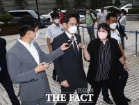 '불법승계 혐의' 공판 출석하는 이재용 부회장 [TF사진관]