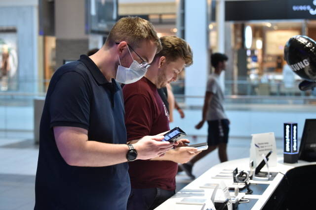 삼성전자, '갤럭시Z폴드3·플립3' 전 세계 본격 출시