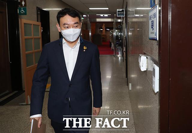 더불어민주당 국회 법사위원이자 미디어혁신특위 위원장인 김용민 의원.