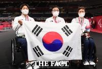 한국, 도쿄패럴림픽 탁구 금은동 싹쓸이...주영대 첫 금메달 [TF사진관]
