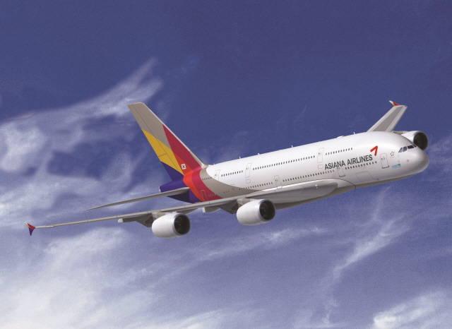 아시아나항공이 지난 7월부터 9월까지 중국발 미주행 인천 환승 노선에서 약 1만여 명의 수요를 유치했다고 1일 밝혔다. /아시아나항공 제공