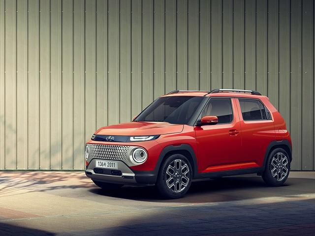 현대차가 1일 하반기 출시를 앞둔 엔트리 SUV 캐스퍼의 외관을 최초로 공개했다. /현대차 제공