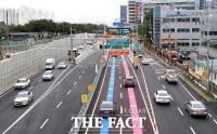 '교통지옥 해소될까?' 서부간선지하차도-월드컵대교 개통 [TF사진관]