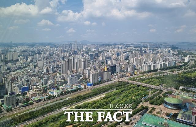 수도권 아파트 매매가격 0.4% 상승…7주 연속 고공행진