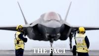 동해 날아오른 '수직 이착륙' F-35B 전투기 [TF사진관]
