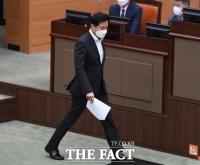 오세훈, '시정농단' 비판에 퇴장…1시간반 파행(영상)