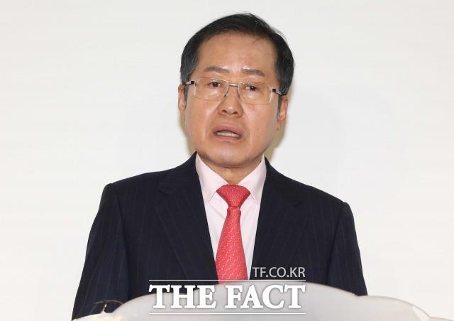 홍준표 국민의힘 의원은 4일 페이스북을 통해 한국갤럽의 여론조사를 신뢰하지 않는다고 말했다. /이새롬 기자