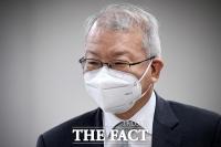 '사법 농단 의혹' 재판 출석하는 양승태 전 대법원장 [TF사진관]