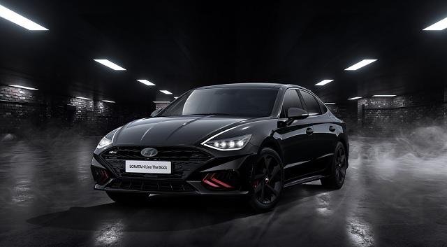 현대차, 쏘나타 N 라인 '더 블랙' 50대 한정 판매…3568만 원