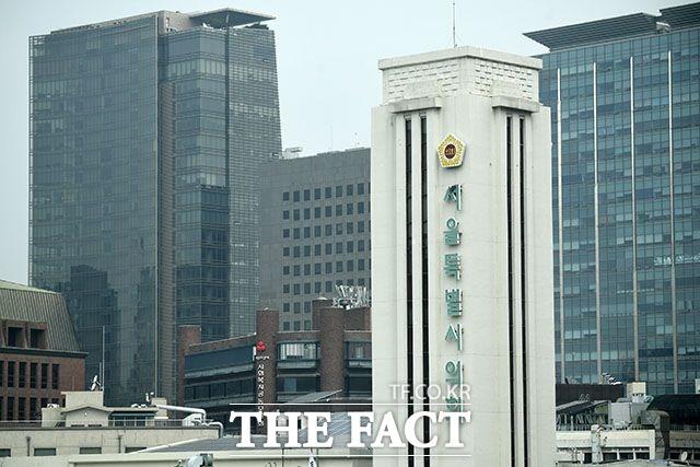 서울시의회 더불어민주당 의원들은 7일 입장문을 통해 오 시장의 코드 인사를 멈추라고 주장했다. /남윤호 기자