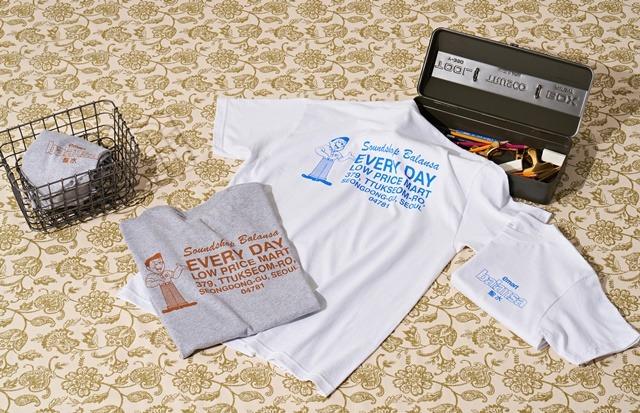 이마트는 8일 스트리트 패션 브랜드 편집숍 발란서와 협업 상품 4종을 출시했다고 밝혔다. /이마트 제공
