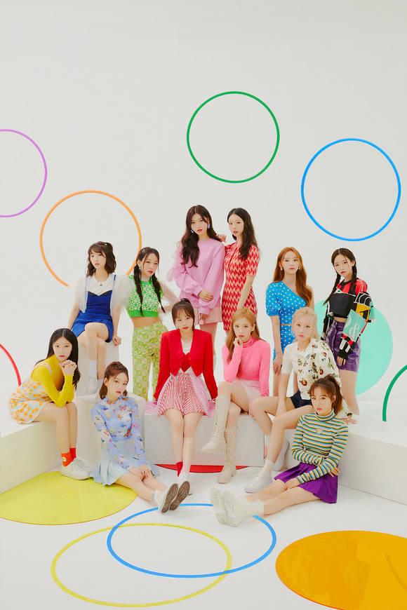 이달의 소녀가 오는 15일 HULA HOOP으로 일본에서 정식 데뷔한다. /블록베리크리에이티브 제공