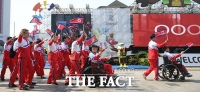 '북한 국제대회 인공기 못 단다'...IOC, 내년말까지 '징계'