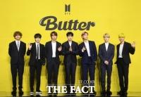방탄소년단 'Butter', 빌보드 핫100 1위 재탈환…통산 10번째