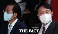 국민의힘 경선 1차 '컷오프'…尹-洪 신경전 '고조'