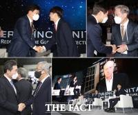 여야 대권주자 총출동, '제22회 세계지식포럼' 개막식 [TF사진관]