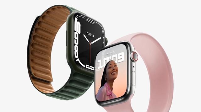 애플, 스마트워치 '애플워치7' 공개…출시일은?