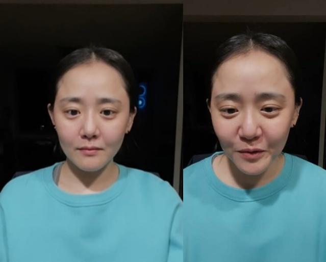 배우 문근영이 SNS를 통해 오랜만에 근황을 전한 가운데, 작품 복귀에 대한 소식도 전했다. /문근영 SNS 라이브 캡처