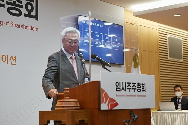 김준 SK이노베이션 총괄사장 '배터리 IPO 서두르지 않겠다'