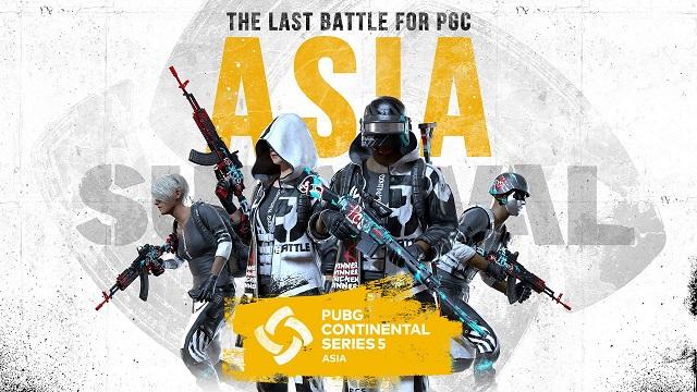 크래프톤 '배틀그라운드 글로벌 대회 PCS5 개막'