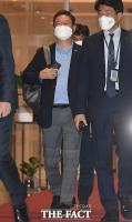유엔 총회 위해 출국하는 황희 장관 [포토]