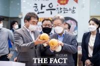 나주 찾아 '배' 구매한 이재명 지사 [TF사진관]