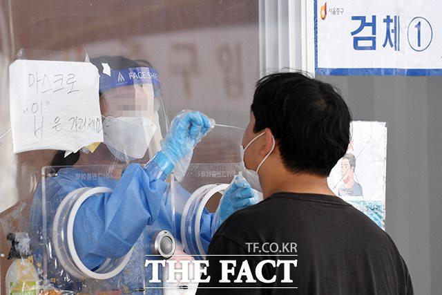 코로나19 백신 미접종자 예약률이 1%에 미치지 못 하는 것으로 나타났다./남용희 기자