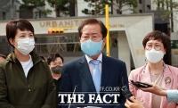 대장동 찾은 홍준표, '이재명 정조준' [TF사진관]