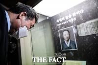 울산 독립운동가 박상진 의사 생가 방문한 이낙연 [TF사진관]