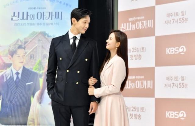 배우 지현우(왼)와 신인 이세희가 로맨스 호흡을 맞추며 신선한 케미를 자랑할 예정이다. /KBS 제공