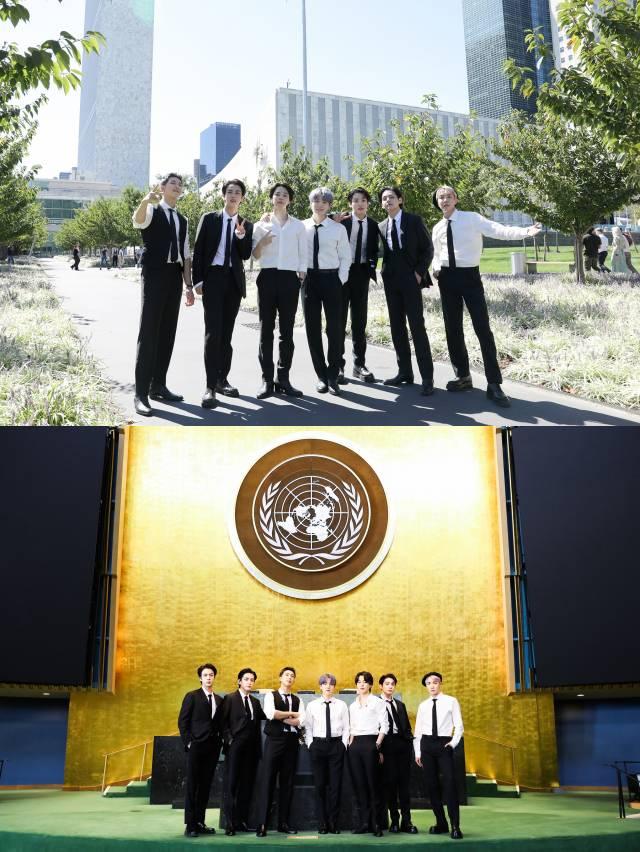 그룹 방탄소년단이 유엔 총회 참석에 대한 소신과 자신들의 역할을 밝혔다. /빅히트 뮤직 제공