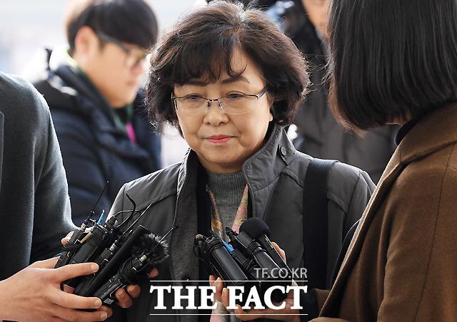 환경부 블랙리스트 사건으로 1심에서 실형을 선고받고 구속된 김은경 전 환경부 장관이 항소심에서 징역 2년을 선고받았다. /이새롬 기자