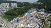'연일 이어지는 논란 속 개발 진행중인 대장동 신도시' [TF사진관]