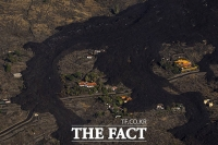 '화산 폭발로 주택가는 용암까지'…불지옥 된 라팔마 섬 [TF사진관]