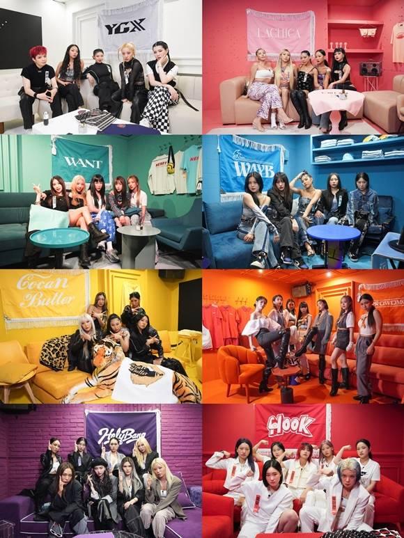 Mnet 댄서 크루 배틀 프로그램 스트릿 우먼 파이터의 여덟 크루 수장들이 시청자들에게 감사함을 표했다. /Mnet 제공