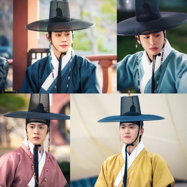 SBS 월화드라마 홍천기 안효섭 공명 김유정의 삼각 로맨스가 본격적으로 시작된다. /SBS 제공