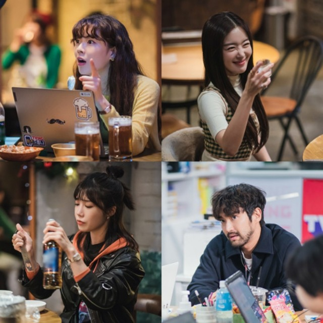 이선빈·한선화·정은지, '술꾼도시여자들' 주당 4인방 스틸 공개