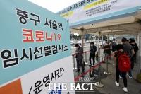 '위드 코로나 멀어지나'…일요일 역대 최다 확진자 2383명 [TF사진관]