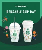 스타벅스, 28일 하루 전국 매장서 다회용 컵에 음료 제공